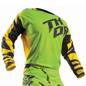 Maillot Cross Thor Déstockage Youth Fuse Dazz - Vert Jaune 2017