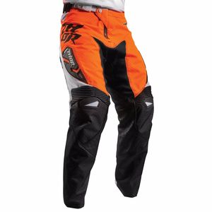 Pantalon cross FUSE AIR DAZZ  - BLANC ORANGE 2017 Blanc/Orange