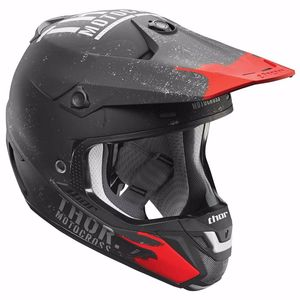 Casque cross VERGE OBJECTIV - NOIR GRIS (mat) -  2018 Noir/Gris