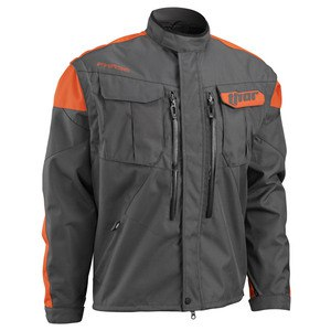 Veste Enduro Thor Phase - Charbon Orange - 2018