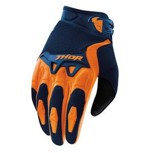 Gants Cross Thor Youth Spectrum - Bleu Marine Orange - 2018