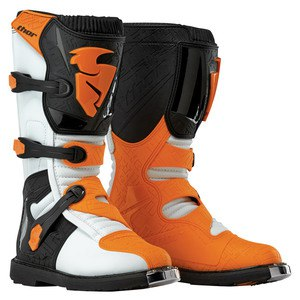 Bottes Cross Thor Blitz Mx White Orange 2019