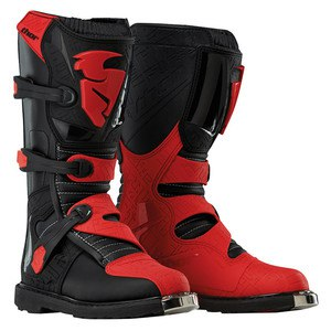 Bottes cross BLITZ MX BLACK RED 2019 Noir/Rouge
