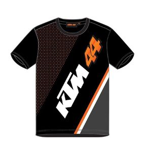 T-Shirt manches courtes KTM 44 - POL ESPARGARO  Black White