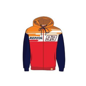 Sweat REPSOL - MARC MARQUEZ  Navy Orange Red