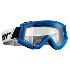 Masque cross YOUTH COMBAT - BLUE WHITE  Bleu/Blanc