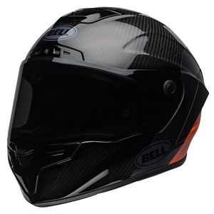 Casque RACE STAR FLEX DLX CARBON LUX  Noir/Orange