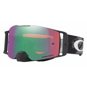 Masque cross FRONT LINE MX - SPEED noir mat écran PRIZM iridium 2018 Noir