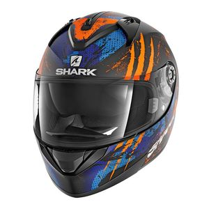 Casque Shark Ridill Threezy Mat
