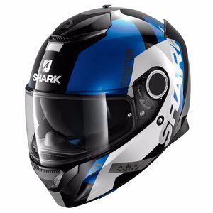 Casque Shark Destockage Spartan Apics Blue