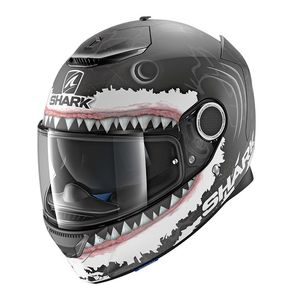 Casque SPARTAN 1.2 - REPLICA LORENZO WHITE SHARK MAT  KWA