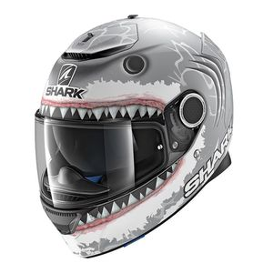 Casque SPARTAN 1.2 - REPLICA LORENZO WHITE SHARK MAT  SWA