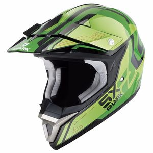 Casque Cross Shark Sx 2 Bhauw Kgg 2017