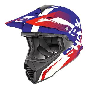 Casque Cross Shark Varial Anger Bwr 2019