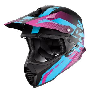 Casque Cross Shark Varial Anger Kbv 2019