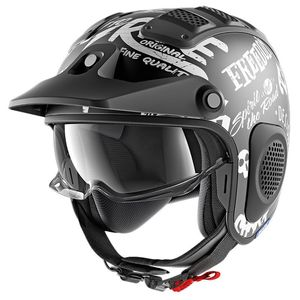 Casque Shark X-drak Freestyle Cup Mat