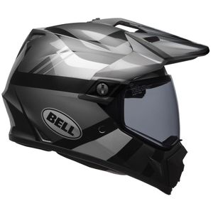 Casque MX-9 ADVENTURE MIPS BLACKOUT  Gris/Noir
