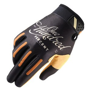 Gants cross RIDEFIT - CORPO CLASSIC -  2018 Noir/Orange