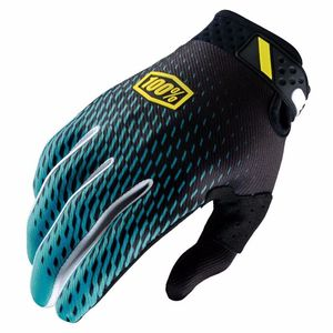 Gants Cross 100% Ridefit - Supra Teal - 2018