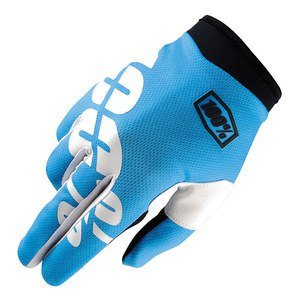 Gants Cross 100% Itrack - Cyan - 2018
