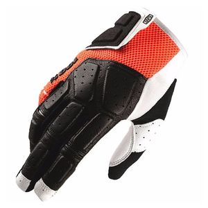 Gants cross 100% SIMI - ORANGE - 2019