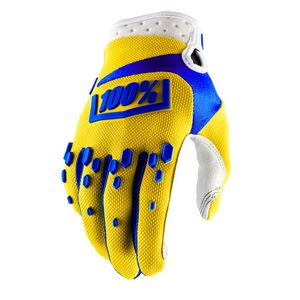 Gants cross AIRMATIC - JAUNE ENFANT  Jaune