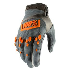Gants Cross 100% Airmatic - Gris 2018