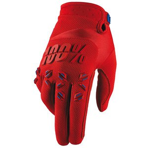 Gants cross AIRMATIC - FIRE RED   Rouge