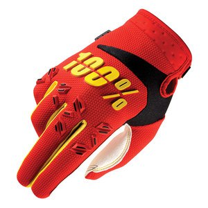 Gants Cross 100% Airmatic Youth - Rouge - 2018