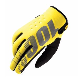 Gants Cross 100% Brisker Youth - Jaune - 2018
