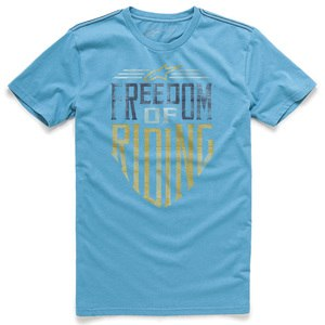 T-shirt manches courtes FREEDOM  Blue