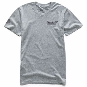 T-shirt manches courtes STATIC  Heather grey