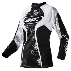Maillot Cross Kenny Destockage Adventure Femme Noir 2017