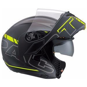 Casque COMPACT ST - SEATTLE  Black/Yellow
