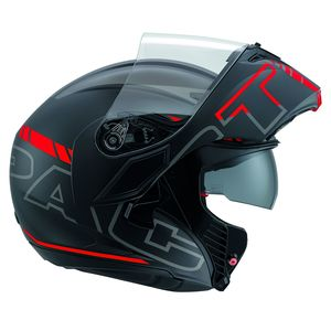 Casque COMPACT ST - SEATTLE  Black/Red