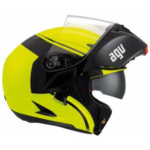 Casque COMPACT ST - COURSE  Black/Yellow