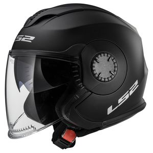Casque OF570 - VERSO - SOLID MATT  Matt black
