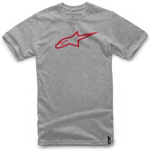 T-Shirt manches courtes AGELESS CLASSIC  Gris Rouge