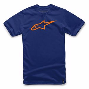 T-shirt manches courtes AGELESS  Navy/Orange