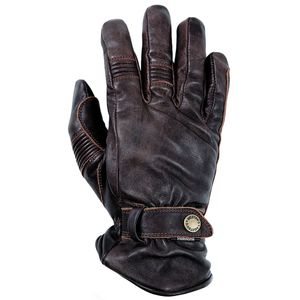 Gants BOSTON - cuir PULL UP  Marron