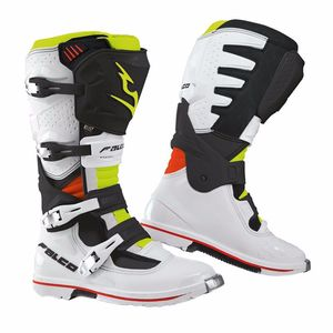 Bottes Cross Falco Extreme Pro 3.1 Black White Red Fluo 2019