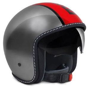 Casque BLADE METAL  Gris/Rouge