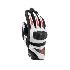 Gants RAPTOR PLUS WHITE  Blanc/Rouge