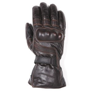 Gants TITAN - cuir PULL UP  Marron