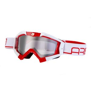 Masque cross RC PLUS RED/WHITE 2019 Rouge/Blanc