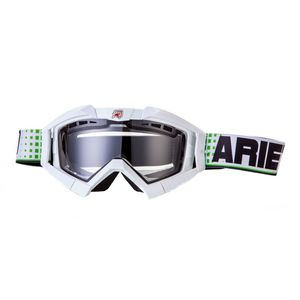 Masque cross RC FLOW WHITE 2019 Blanc