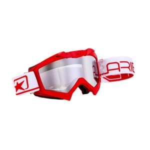 Masque cross ADRENALINE PROFI PLUS RED/WHITE 2019 Rouge/Blanc