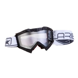 Masque cross ADRENALINE PROFI PLUS BLACK/GREY 2019 Noir/Gris