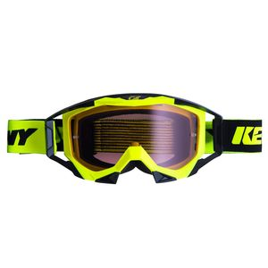 Masque Cross Kenny Titanium - Jaune Fluo 2019