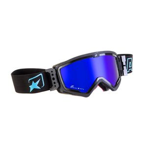 Masque cross MUDMAX BLACK/BLUE IRIDIUM BLUE 2019 Noir/Bleu